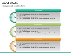 Gauge stages PPT slide 28