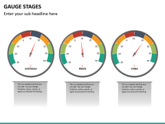 Gauge stages PPT slide 16
