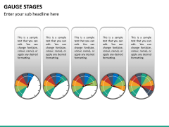 Gauge stages PPT slide 19