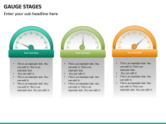 Gauge stages PPT slide 23