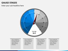 Gauge stages PPT slide 1