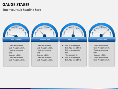 Gauge stages PPT slide 10