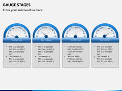 Gauge stages PPT slide 10
