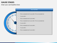 Gauge stages PPT slide 11