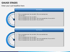Gauge stages PPT slide 12