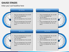 Gauge stages PPT slide 13