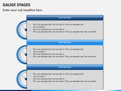 Gauge stages PPT slide 14