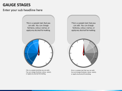 Gauge stages PPT slide 6