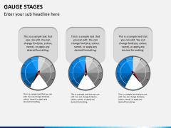 Gauge stages PPT slide 7