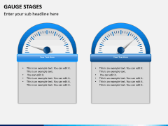 Gauge stages PPT slide 8