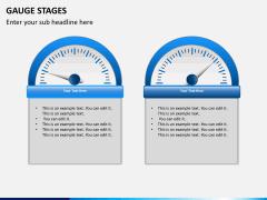 Gauge stages PPT slide 8