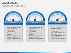Gauge stages PPT slide 9
