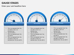 Gauge stages PPT slide 9