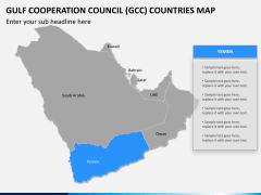 Gulf council map PPT slide 12