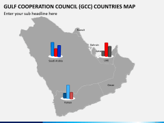 Gulf council map PPT slide 14
