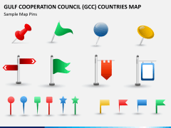 Gulf council map PPT slide 16