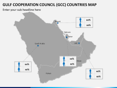 Gulf council map PPT slide 6