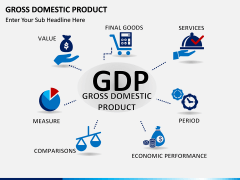 Gross domestic product PPT slide 1