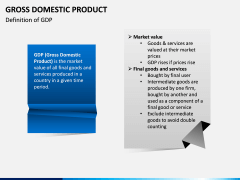 Gross domestic product PPT slide 2