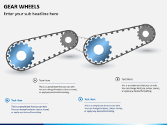 Gear wheels PPT slide 2