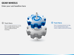 Gear wheels PPT slide 3