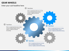 Gear wheels PPT slide 6