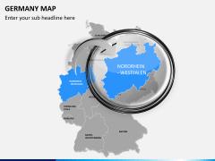 Germany map PPT slide 12