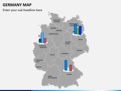 Germany map PPT slide 14