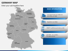 Germany map PPT slide 16
