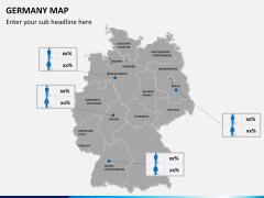 Germany map PPT slide 17