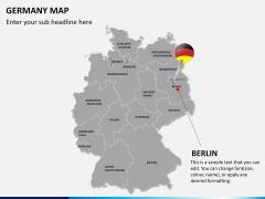 Germany map PPT slide 18