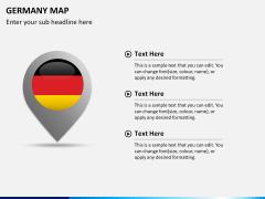 Germany map PPT slide 20