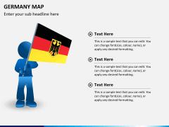 Germany map PPT slide 21