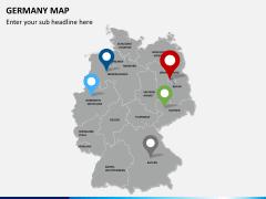 Germany map PPT slide 4