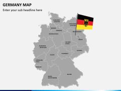 Germany map PPT slide 5