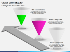 Glass with liquid PPT slide 4