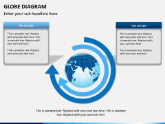 Globe diagram PPT slide 6