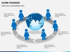 Globe diagram PPT slide 8