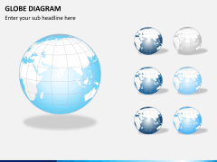 Globe diagram PPT slide 9