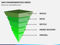Save environment/go green PPT slide 2