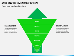 Save environment/go green PPT slide 4