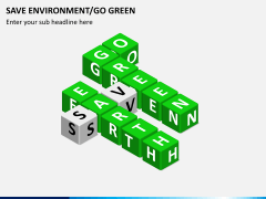 Save environment/go green PPT slide 7