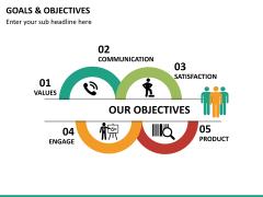 Goals and objectives PPT slide 13