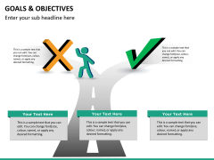 Goals and objectives PPT slide 17