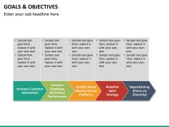 Goals and objectives PPT slide 18