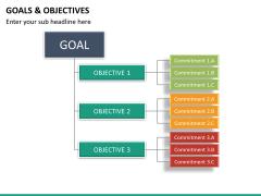 Goals and objectives PPT slide 19