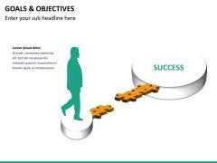 Goals and objectives PPT slide 21