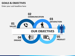 Goals and objectives PPT slide 1