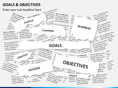 Goals and objectives PPT slide 11