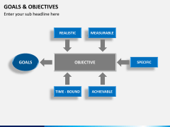 Goals and objectives PPT slide 12